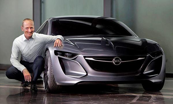 Opel показал концепт Monza на видео