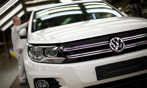 Завод Volkswagen в Калуге приостановил производство