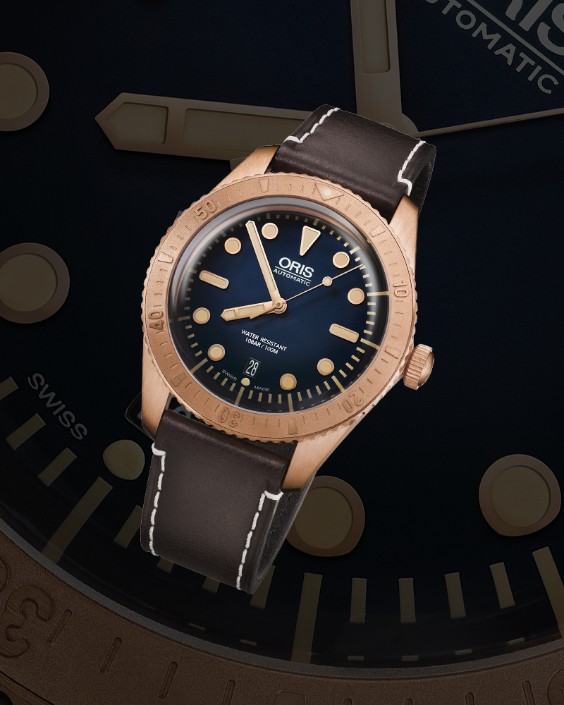 Часы Oris Carl Brashear Limited Edition