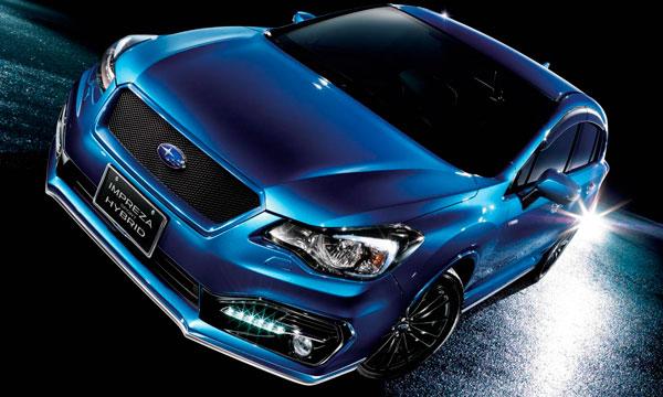 Subaru Impreza превратили в гибрид