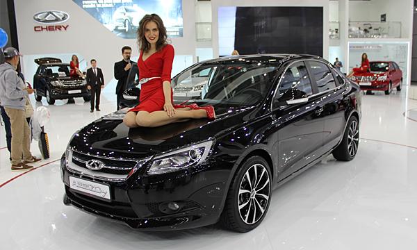 В России стартовали продажи седана Chery Arizzo 7