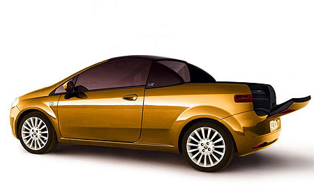 Fioravanti сделала из Fiat Grande Punto пикап-кабриолет