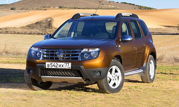Renault Duster получит шильдик Lada