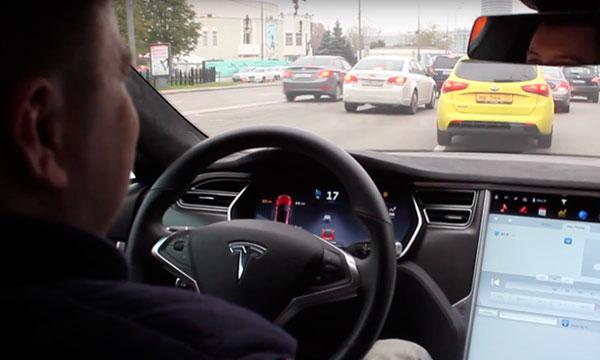 В Москве протестировали первый автомобиль с автопилотом