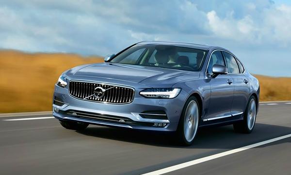 Volvo объявила цены на новый флагманский седан S90