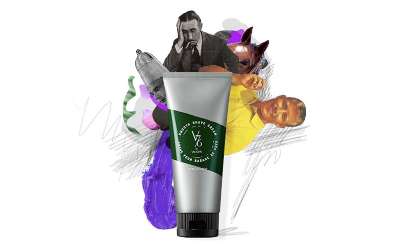 Смягчающий крем для бритья Smooth Shave Cream, V76 by Vaughn