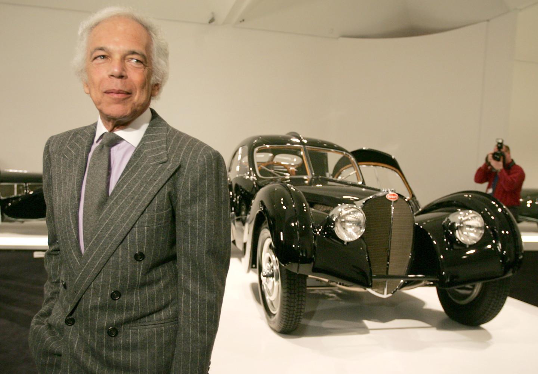 Bugatti T57 Atlantic SC выпуска 1938 года из коллекции Ральфа Лорена. Из четырех автомобилей сохранились только два