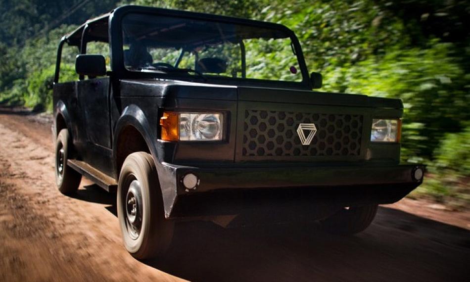 Кенийская компания Mobius Motors представила самый дешевый внедорожник в мире