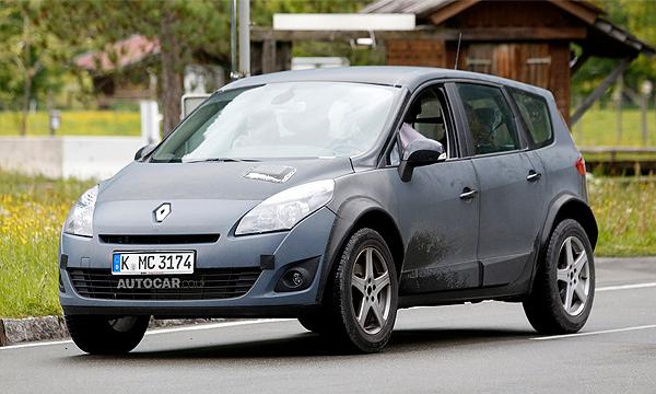 Renault начал тестировать первую модель на новой платформе