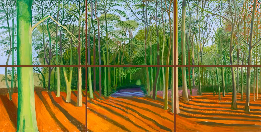 Дэвид Хокни «Лес Волдгейта», 2006