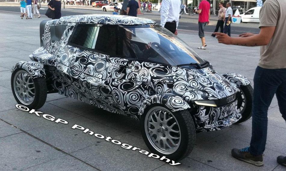 Двухместный электрокар Audi. Первые фото