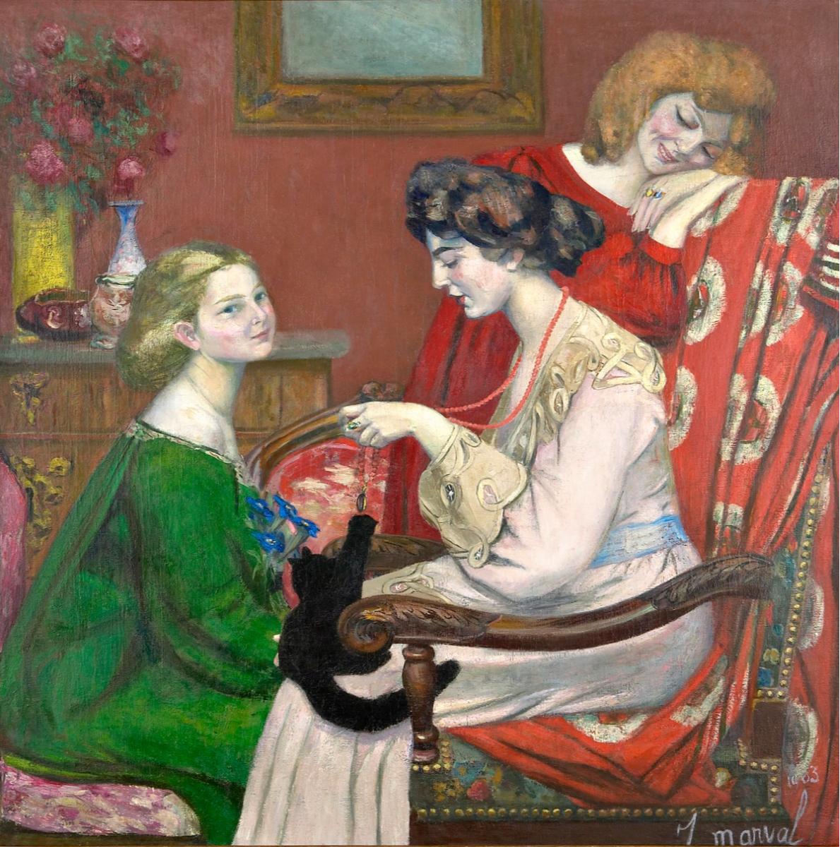 Жаклин Марваль, «Кокетки», 1903