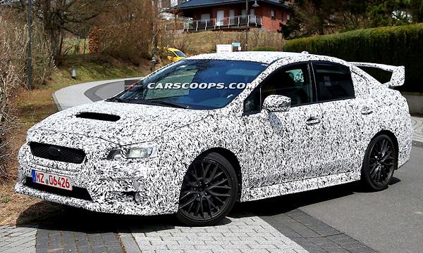 Новую Subaru Impreza заметили на тестах