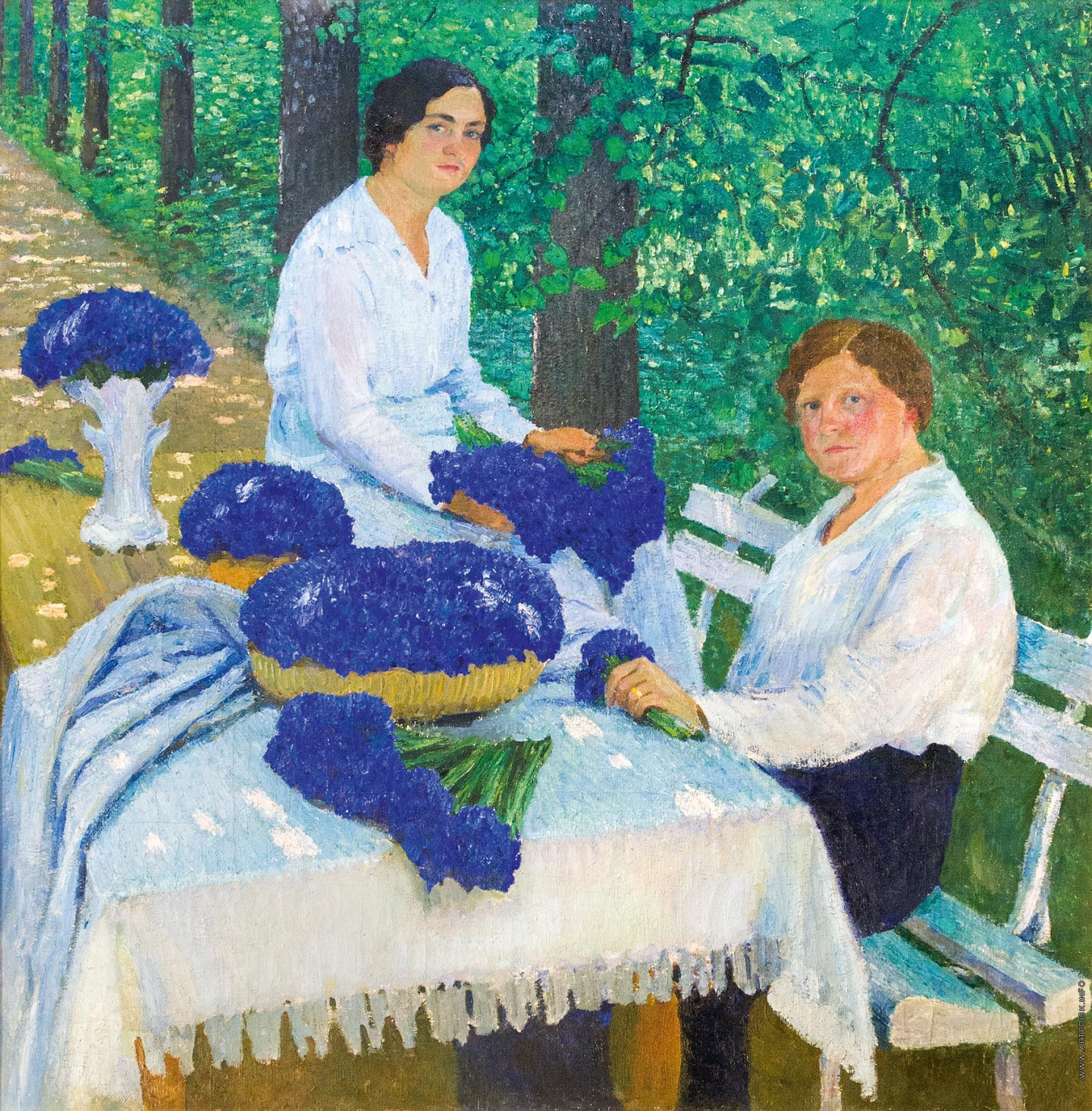 И.Э. Грабарь. «Васильки», 1914