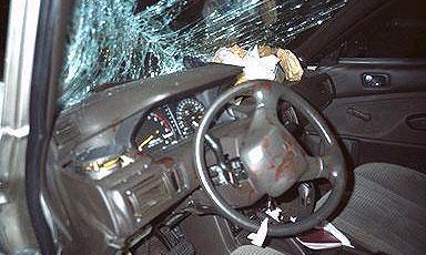 В Петербурге столкнулись 7 автомобилей, один ушел под лед