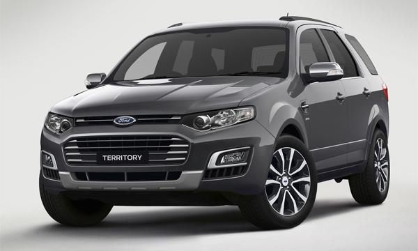 Ford представил последнюю версию внедорожника Territory