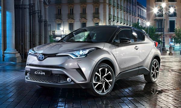 Toyota запустит кроссовер CH-R в серию до конца года