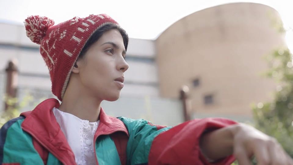Надежда Толоконникова,участница панк-группы Pussy Riot