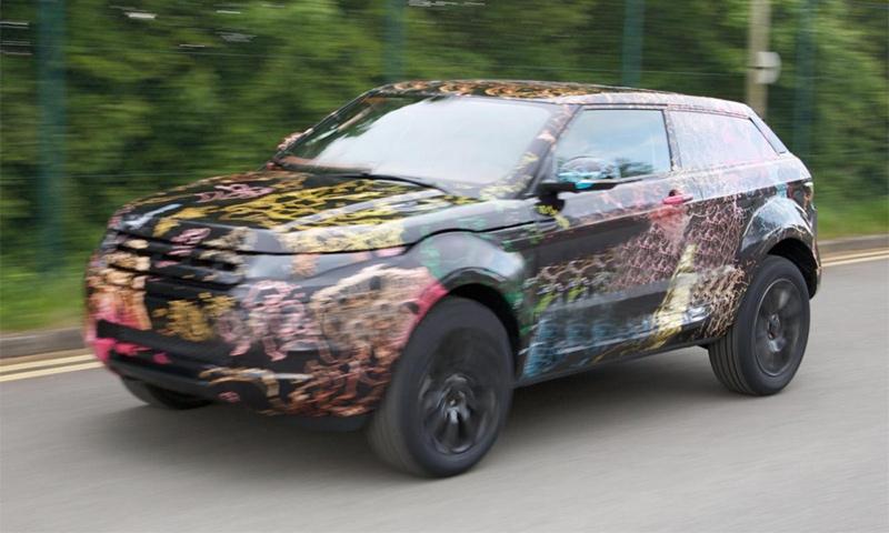 2011 Range Rover LRX 3-door
