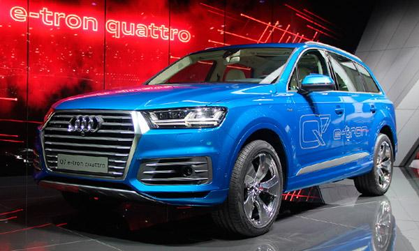 Audi представила гибридную версию внедорожника Q7