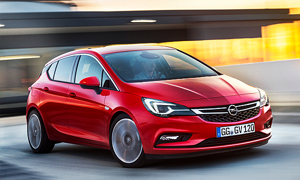 Opel Astra K: все подробности о новом хэтчбеке