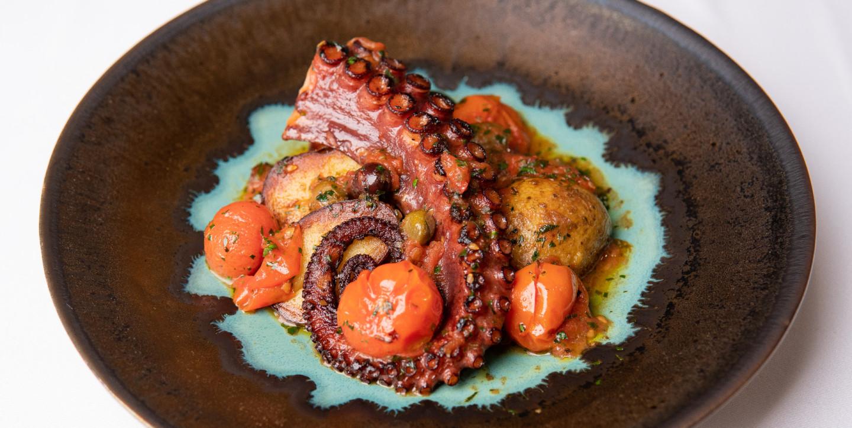 Осьминог с картофелем и томатами, Narval