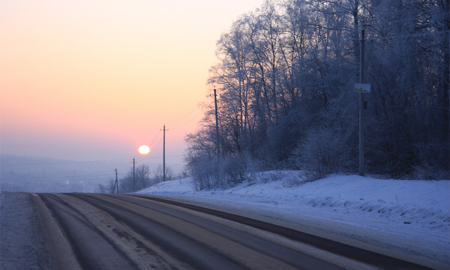 Российские дороги перестали посыпать солью и песком
