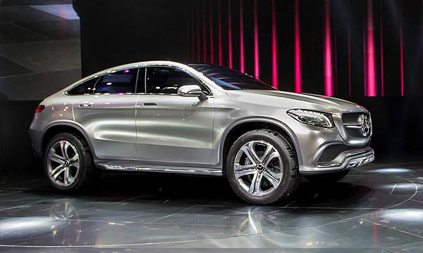 Mercedes-Benz показал конкурента BMW X6