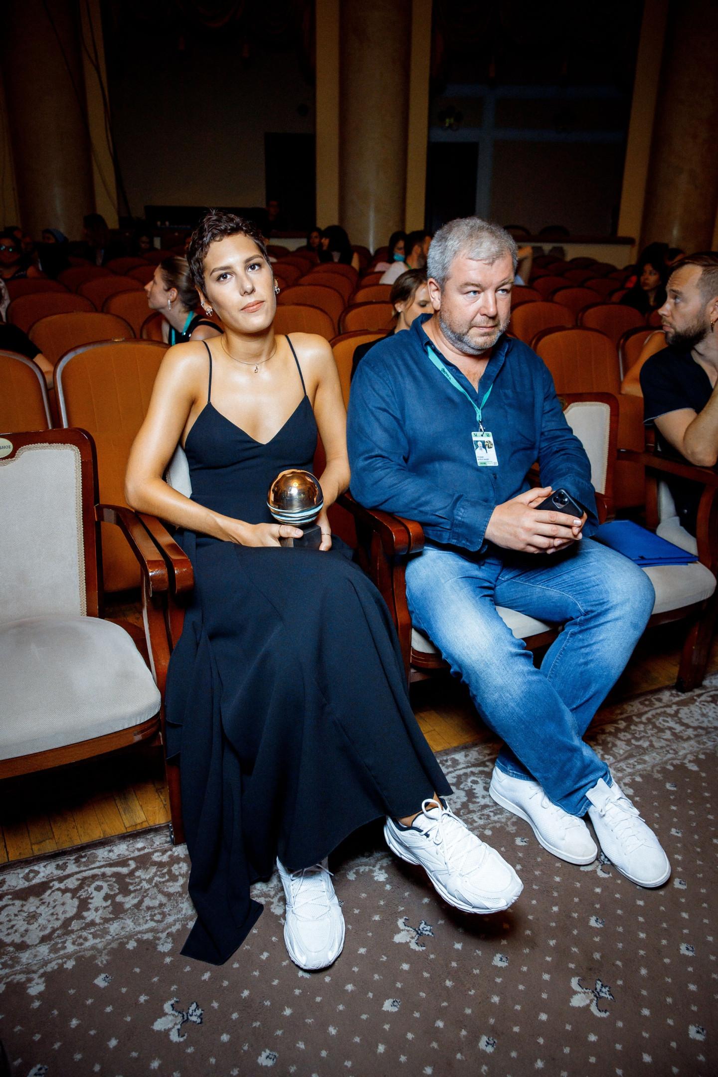 Ирина Горбачева и Александр Робак