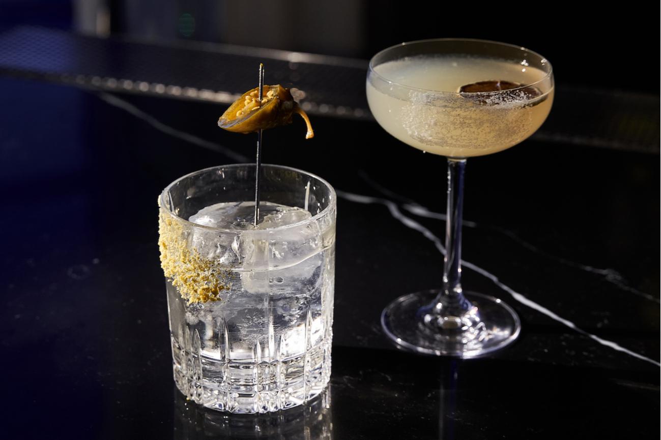 Классическая «Маргарита» и твист на этот коктейль,Mercedes Bar