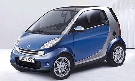 Smart fortwo получит двигатели Mitsubishi