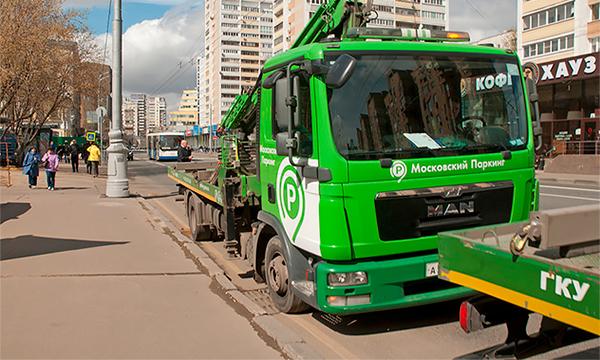 В Москве появятся новые эвакуаторы для грузовиков