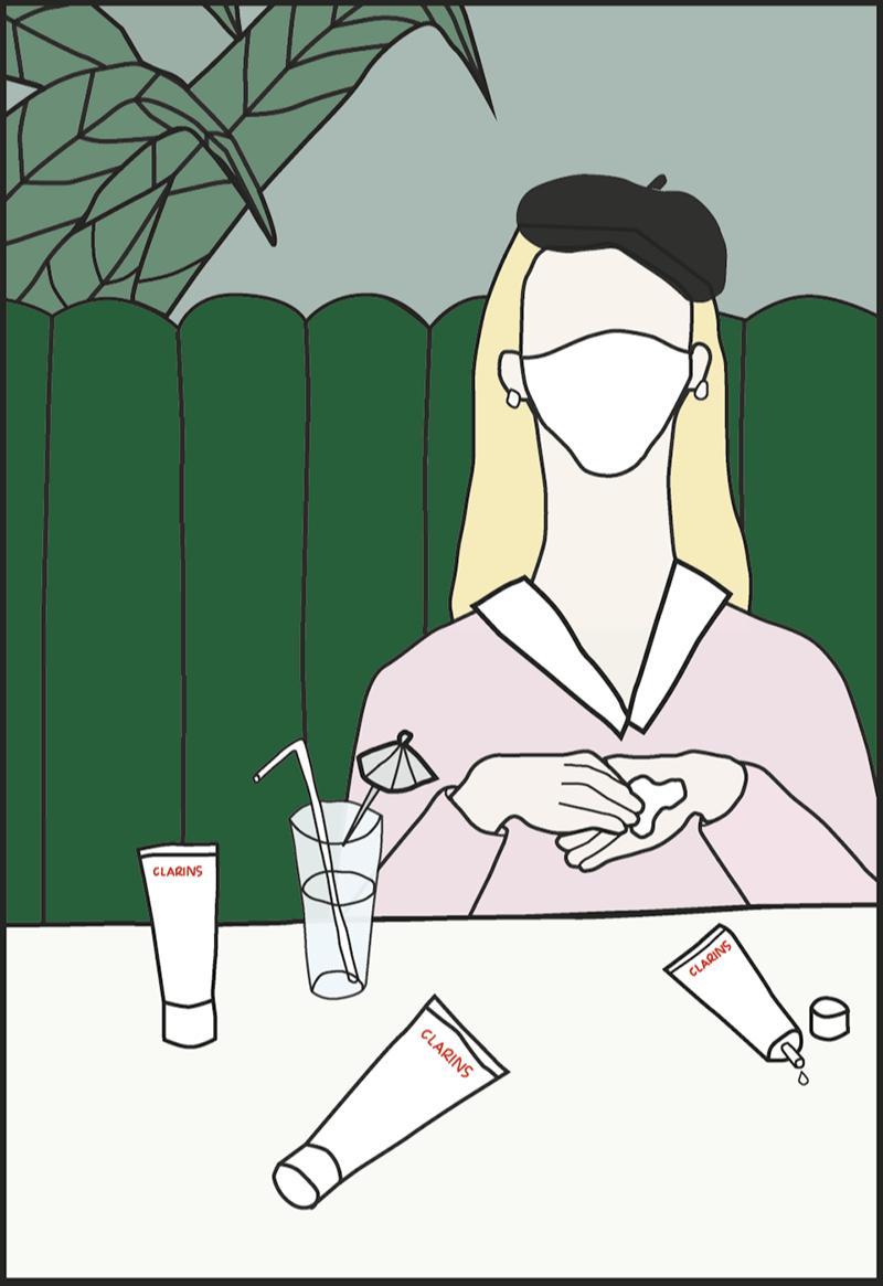 Иллюстрация для упаковки набора художницы Клэр Куртен-Кларанс