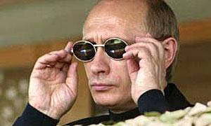 Путин смотрит с оптимизмом