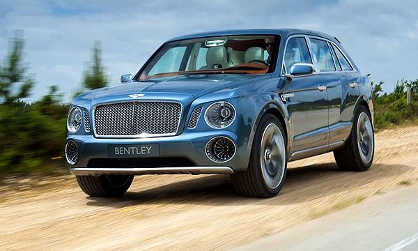 Компания Bentley создаст самый быстрый кроссовер