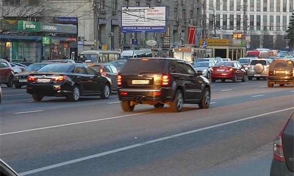 В Москве установят датчики для контроля за состоянием дорог