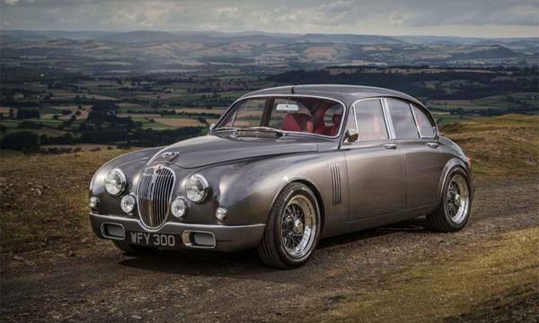 Главный дизайнер Jaguar показал уникальный ретрокар