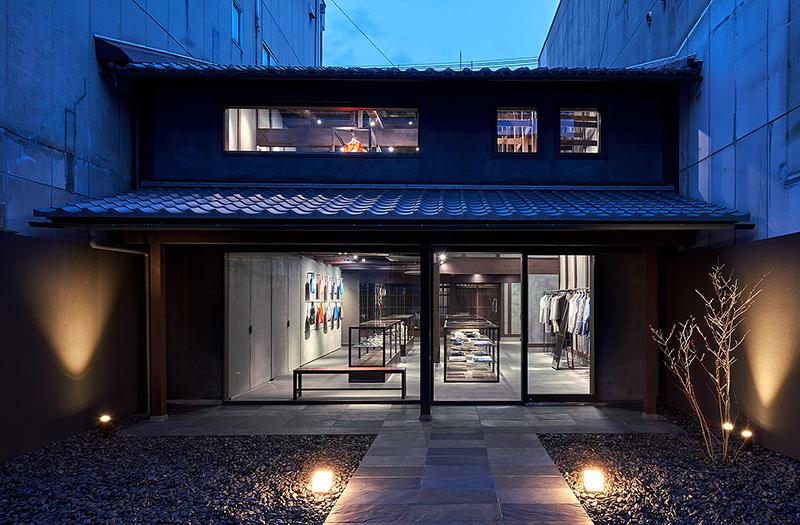 Бутик Issey Miyake в Киото, дизайнер Наото Фукасава