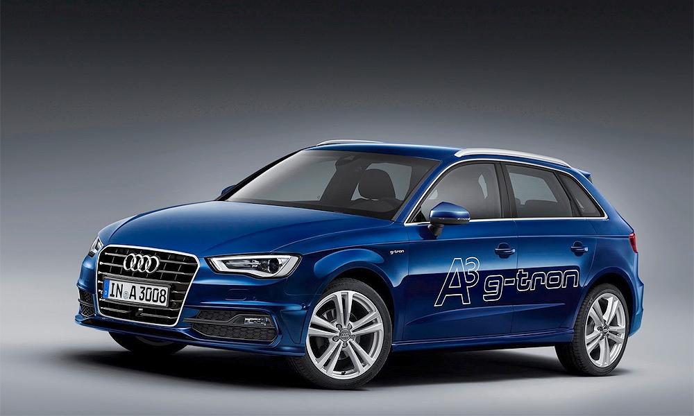 Audi A3 Sportback сможет ездить на газу