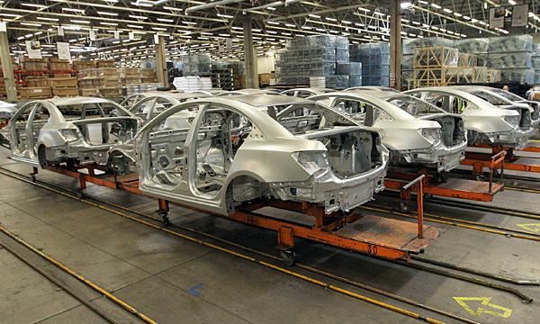 Завод General Motors в Санкт-Петербурге остановил работу на две недели