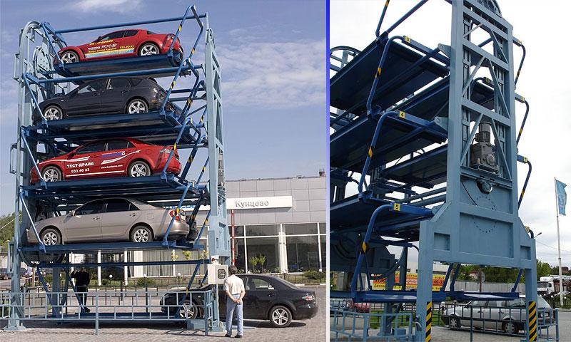В СВАО установят два многоэтажных паркинга-автомата