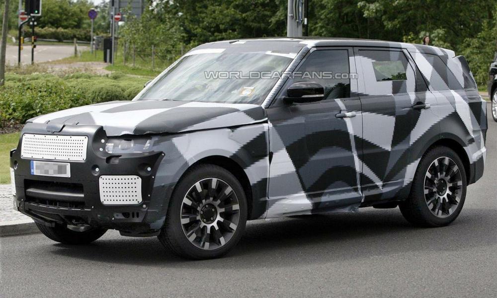 Что взял от Evoque новый Range Rover Sport. Первые фото