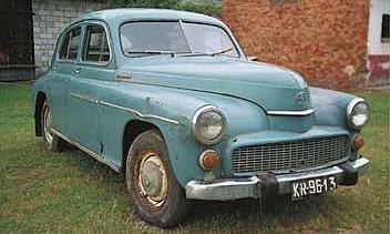 Папа-мобиль FSO Warsawa 1958 хотят продать за 24 000 долларов