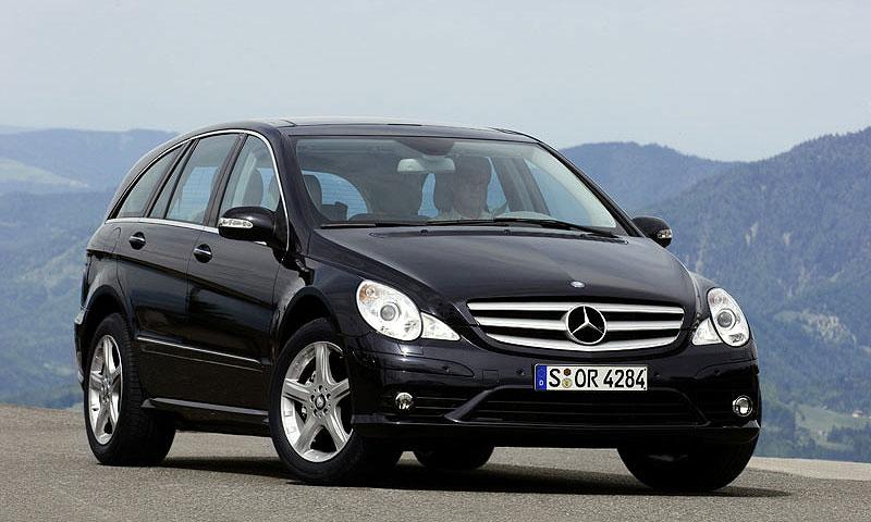 Mercedes-Benz представил обновленный R-Class