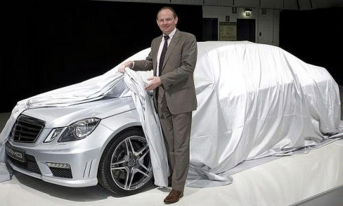 Mercedes E63 AMG Sedan