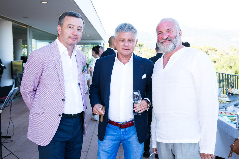 Константин Луценко, Виктор Бондаренко и Емельян Захаров