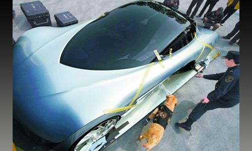 Концепт Mazda Taiki заподозрили в перевозке наркотиков