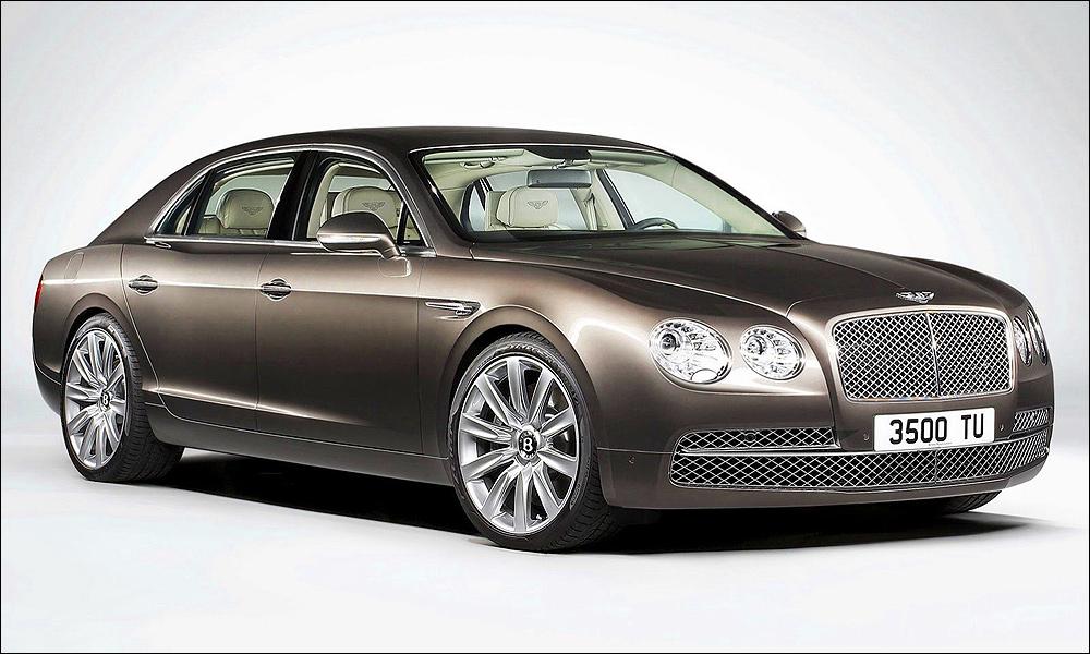 Быстрейший: 600 новых деталей от Bentley Continental Flying Spur