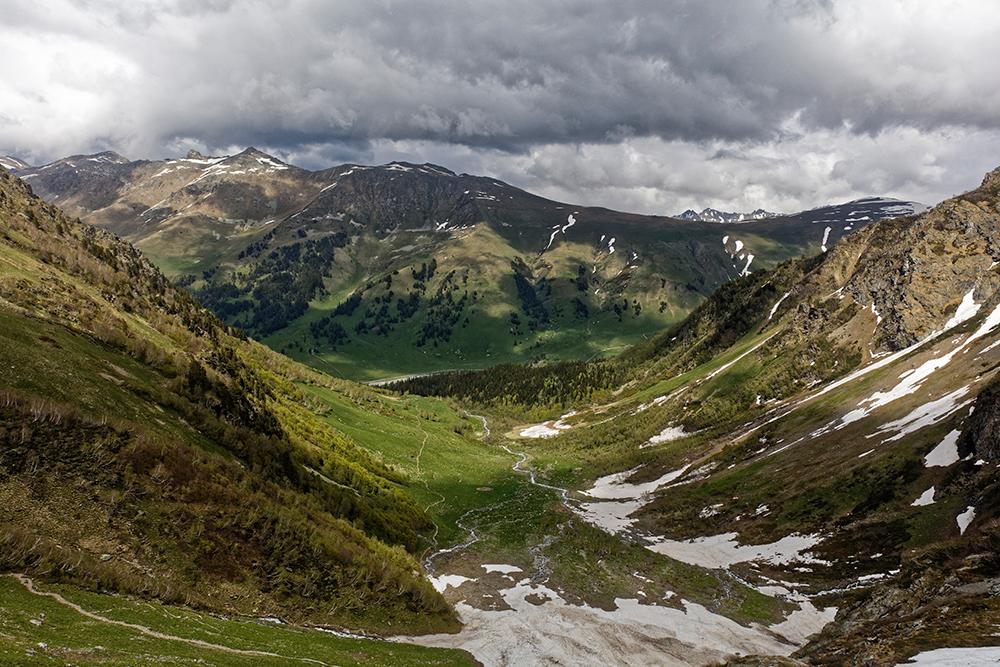 Кавказский хребет, Тебердинский биосферный заповедник, Карачаево-Черкесия