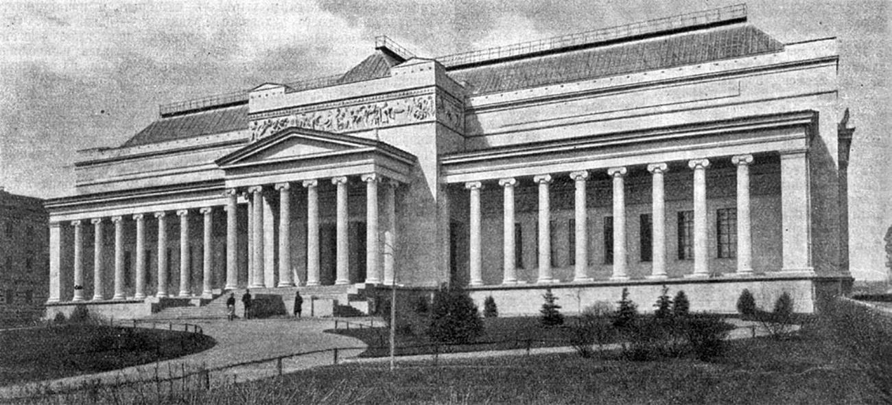 Главное здание ГМИИ им. А.С. Пушкина, 1912